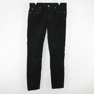 Kut from the Kloth Diana Skinny Black Corderoy